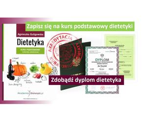 Warszwa kurs podstawowy dietetyki