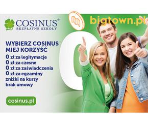 Zapisz się do Darmowych Szkół Cosinus. Rekrutacja trwa!
