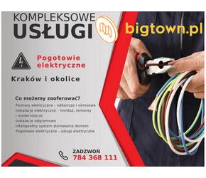 DAWsystem - profesjonalne pogotowie elektryczne na terenie Krakowa i okolic