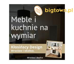 Kłosińscy Design - meble na wymiar - Wrocław i jego okolice