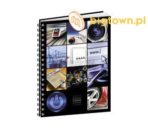 Kolorowe zeszyty z oferty firmy Biurwa