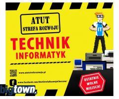 Technik Informatyk w ATUT Strefa Rozwoju !!
