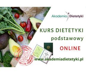 Dietetyka Warszawa - kurs dietetyki online
