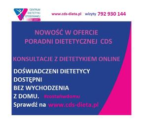 KONSULTACJE Z DIETETYKIEM PRZEZ INTERNET DIETA ONLINE CDS BIAŁYSTOK