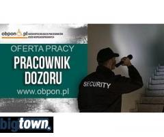 Pracownik dozoru - praca stacjonarna Łódź, Warszawa