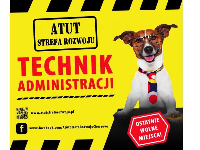 Technik Administracji bezpłatnie w ATUT Strefa Rozwoju :)