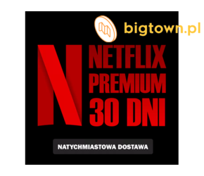 NETFLIX 31 DNI PREMIUM PL + HBOgo| Wysyłka 24h i Gwarancja!