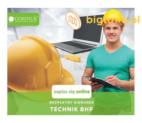 Technik BHP w Szkole Cosinus. Rekrutacja trwa!