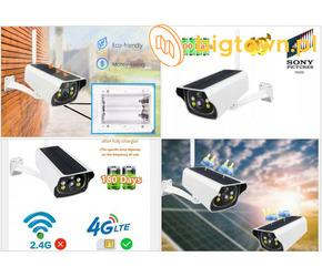 Kamera Solarna GSM 3G 4G LTE na kartę Sim Sony