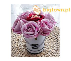 Piękne sztuczne kwiaty do dekoracji Sklep Pantofelek24.pl